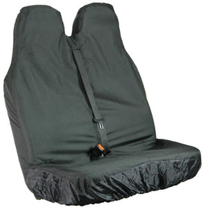 Van Seat Cover - Black Double Passenger