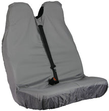 Load image into Gallery viewer, Van Passenger Double Seat Cover in Grey