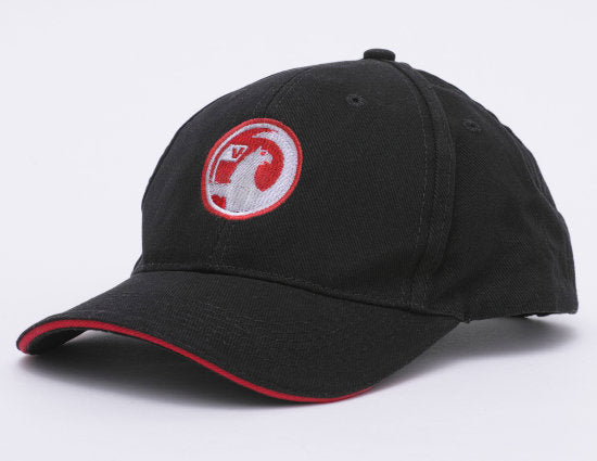 Black Vauxhall Baseball Cap with Vauxhall Griffin logo