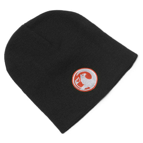 Black Beanie Hat with Vauxhall Griffin logo