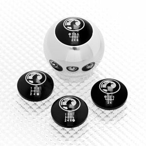 Aluminium Gear Knob with inserts for Vauxhalls