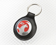 Load image into Gallery viewer, Vauxhall Key Ring in Black