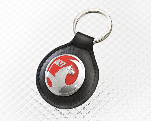 Vauxhall Key Ring in Black