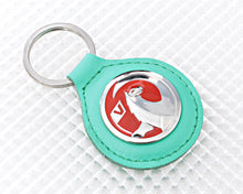 Load image into Gallery viewer, Vauxhall Key Ring - Green Leather