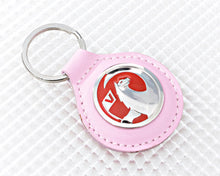 Load image into Gallery viewer, Pink Vauxhall Key Ring