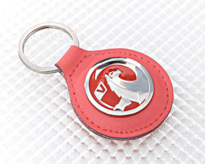 Red Vauxhall Key Ring