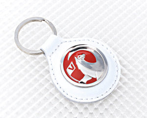 Vauxhall Key Ring in White