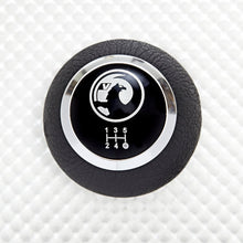 Load image into Gallery viewer, Black Leather Vauxhall Gear Knob