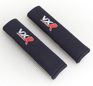 Seat Belt Pads with Vauxhall VXR logo