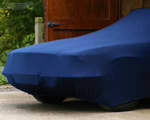 Blue Car Cover for Audi A4