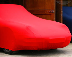 Red Car Cover for Audi A4