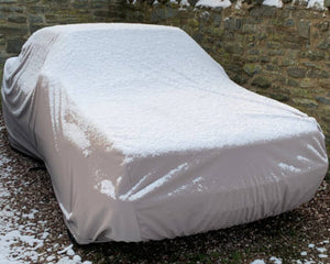 Car Cover for Outdoor Use on Mercedes E-Class