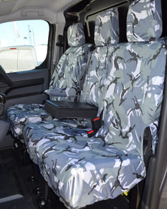 Citroen Dispatch Seat Covers - Waterproof