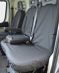 Citroen Relay Seat Cover for Dual Passenger Seat with Table