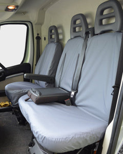 Grey Front Seat Covers for Citroen Relay