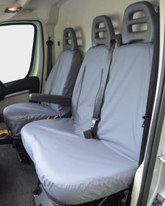 Citroen Relay Grey Waterproof Seat Covers