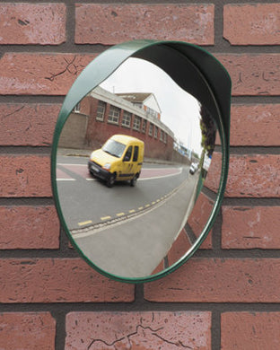 Convex Mirror for Driveways with Poor Visibility