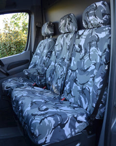 VW Crafter Van Seat Covers - Camouflage