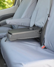 Load image into Gallery viewer, VW Crafter Van Seat Cover - Fold-Out Tray