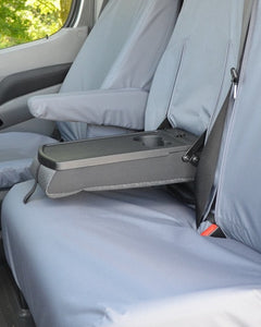 VW Crafter Van Seat Cover - Fold-Out Tray