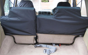 Land Rover Discovery Series I - Rear Black Seat Covers