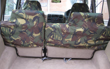 Load image into Gallery viewer, Land Rover Discovery Series I - Rear Green Seat Covers