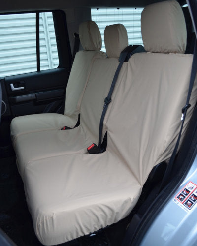Discovery 4 Rear Covers for 3 Seats in Cream/Beige
