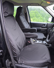Load image into Gallery viewer, Land Rover Discovery 4 Tailored Waterproof Seat Covers - Black
