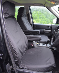 Land Rover Discovery 4 Tailored Waterproof Seat Covers - Black