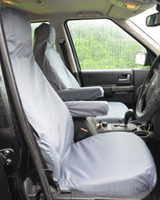 Load image into Gallery viewer, Land Rover Discovery 4 Tailored Waterproof Seat Covers - Grey