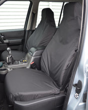 Load image into Gallery viewer, Discovery 4 Black Covers for Front Seats without Armrests