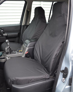 Discovery 4 Black Covers for Front Seats without Armrests