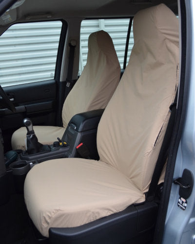 Land Rover Discovery 4 Seat Covers - Cream Beige Sand