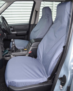 Discovery 4 Grey Covers for Front Seats without Armrests