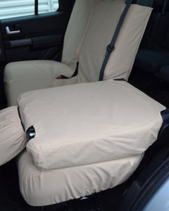 Land Rover Discovery 4 Back Seat Covers - Cream Beige Sand
