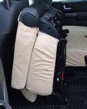 Load image into Gallery viewer, Land Rover Discovery 4 Rear Folded Seat Cover - Beige Cream Sand