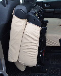 Land Rover Discovery 4 Rear Folded Seat Cover - Beige Cream Sand