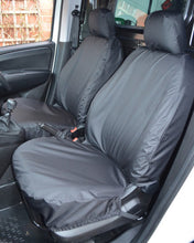 Load image into Gallery viewer, Fiat Doblo Seat Covers in Black