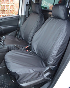 Fiat Doblo Seat Covers in Black