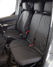 Load image into Gallery viewer, Ford Transit Connect Dual Passenger Seat Cover - Black