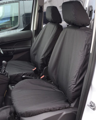 Black Van Seat Covers - Ford Transit Connect Panel Van