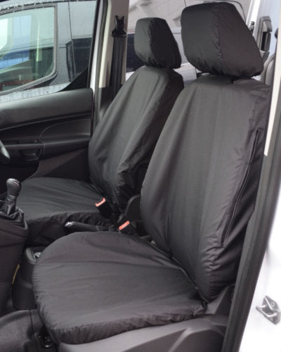 Transit Connect Seat Covers - Black
