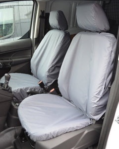Grey Van Seat Covers - Ford Transit Connect Panel Van