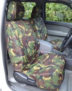 Ford Ranger Pickup Truck Front Seat Covers - Green Camouflage