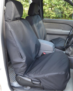 Ford Ranger Pickup Truck Front Seat Covers - Black