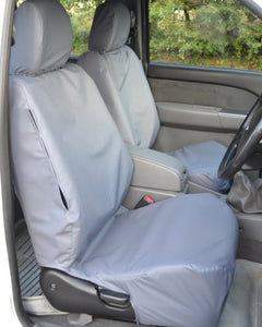 Ford Ranger Pickup Truck Front Seat Covers - Grey