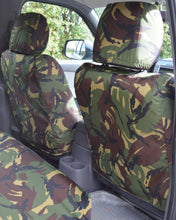 Load image into Gallery viewer, Green Camo Seat Covers for Pickup Trucks - Ford Ranger