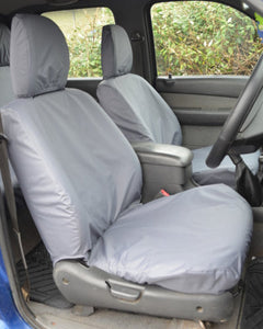 Ford Ranger Grey Waterproof Front Seat Covers