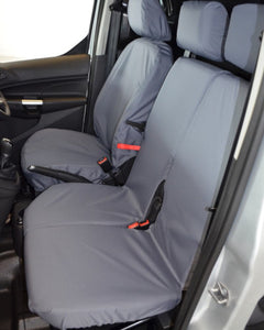 Ford Transit Connect Tailored Dual Passenger Seat Cover - Grey