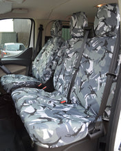 Load image into Gallery viewer, Ford Transit Custom Camouflage Van Seat Covers